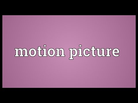 Motion Picture Meaning
