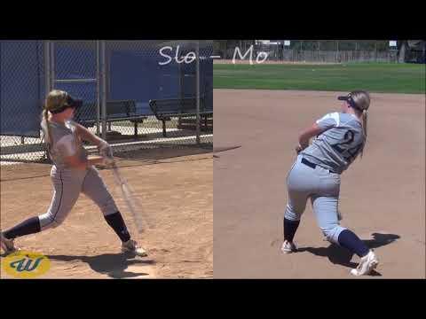 Megan Jones' Softball Skills Video - 2018 MI/3B - California Thunder