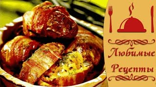 Рецепт вкуснейшего печёного фаршированного картофеля
