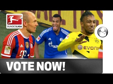 Choupo-Moting, Robben or Aubameyang - Vote for your Player of the Week!