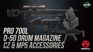 Magpul PRO700L, D-50, CZ & MP5 Accessories - SHOT Show 2019