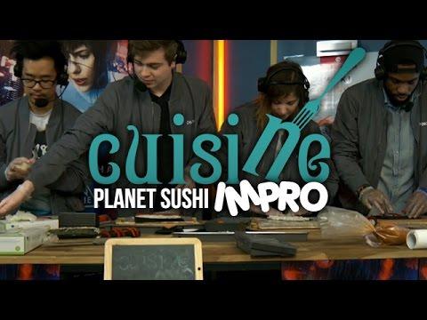 Battle de Sushi/Maki coach par un Maitre de Planet Sushi - Cuisine Impro