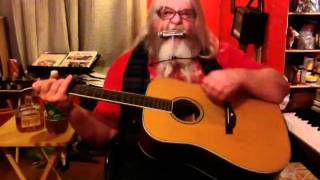 auld lang syne harmonica & guitar