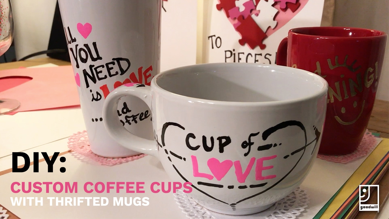 diy custom coffee mugs