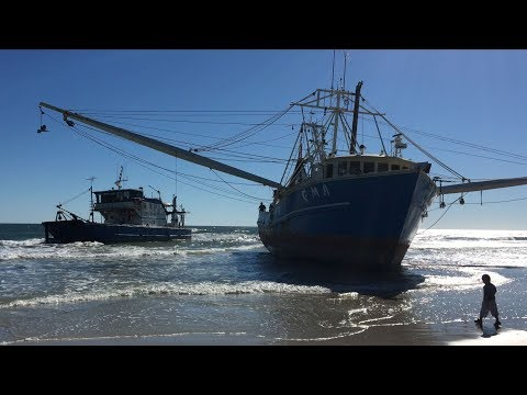 Another Ormond Beach Shrimp Boat Extraction Fails