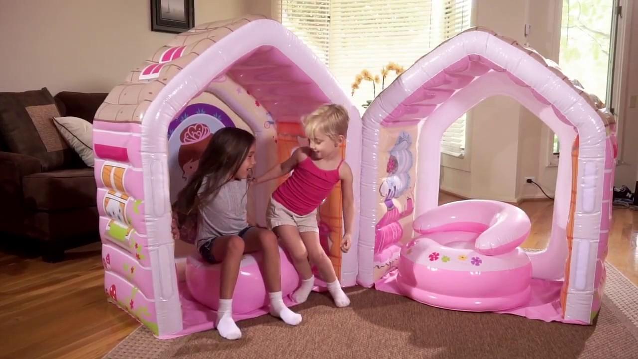 Intex Rainbow Ring Play Center Pool Toys & Games Детский водный .