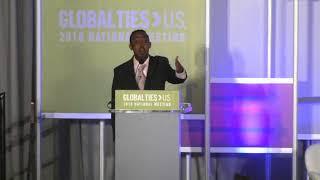 Mohamed Amin Ahmed Receives the 2018 Citizen Diplomat Award (Speech Only)