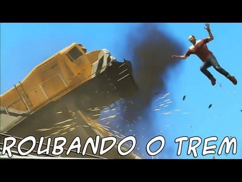 GTA 5: Roubando Trem e Toxinas PT-BR #31