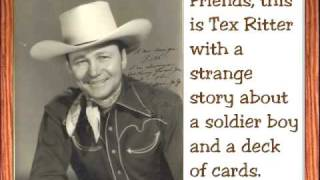 """Deck of Cards"" by Tex Ritter"