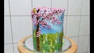 ВЕСЕННИЙ ТОРТ от SWEET BEAUTY СЛАДКАЯ КРАСОТА Spring Cake Decoration