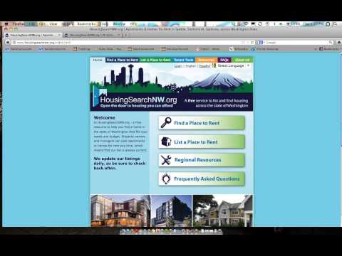 Washington Housing Locator -- Find a home you can afford