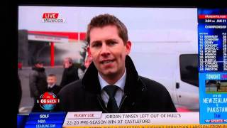 Sky Sports News (Scouse Knob In Background) Transfer Deadline Day
