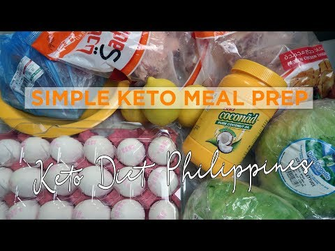 Simple Ketogenic Diet Meal Prep Philippines