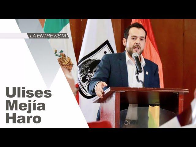 La Entrevista: Ulises Mejía Haro, presidente municipal de Zacatecas, Zacatecas