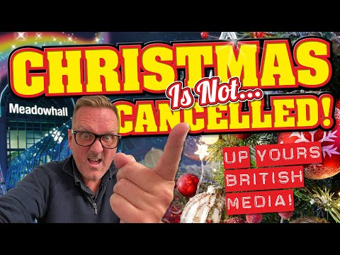 Christmas is NOT Cancelled! Up Yours British Media!🖕