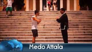 training self - defense kung fu for beginners with Medo Attala ( كونغ فو )