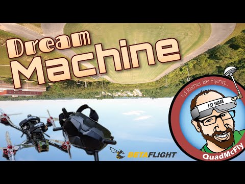 Фото Dream Machine - Raw Pack (Betaflight 4.2 RC2, Actual Rates, RPM Filter, DJI HD FPV)