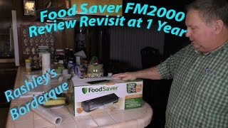FoodSaver FM2000  Review Update at 1 Year - Wildcard Wednesday