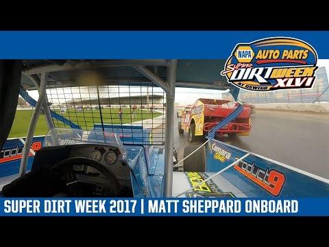 Super DIRTcar Series Matt Sheppard Oswego Speedway October 8th, 2017 | ONBOARD