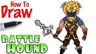 How to Draw the Battle Hound | Fortnite