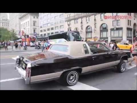 Lunatic Driving In Manhattan