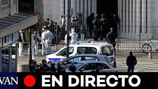 DIRECTO:  Tres muertos y varios heridos en un atentado contra una iglesia en Niza