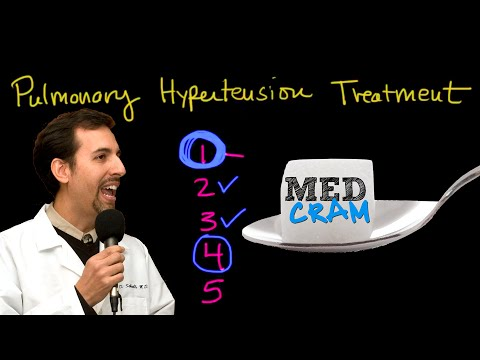 Pulmonary Hypertension Treatment Explained Clearly by MedCram.com