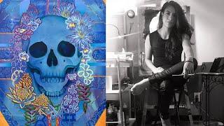 Acrylic painting   Surrounded X Paradise   2019