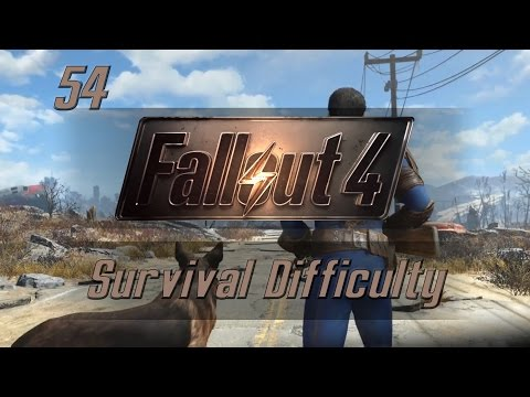Let's Play Fallout 4 (Survival Difficulty) - Ep.54 - Ghoul Hideout - Fallout 4 Gameplay!
