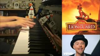 Lion Guard - Here Comes the Lion Guard - Beau Black (Piano Cover by Amosdoll)