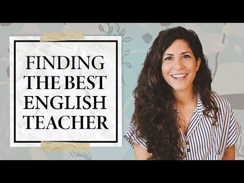 What Makes a GOOD English Teacher?