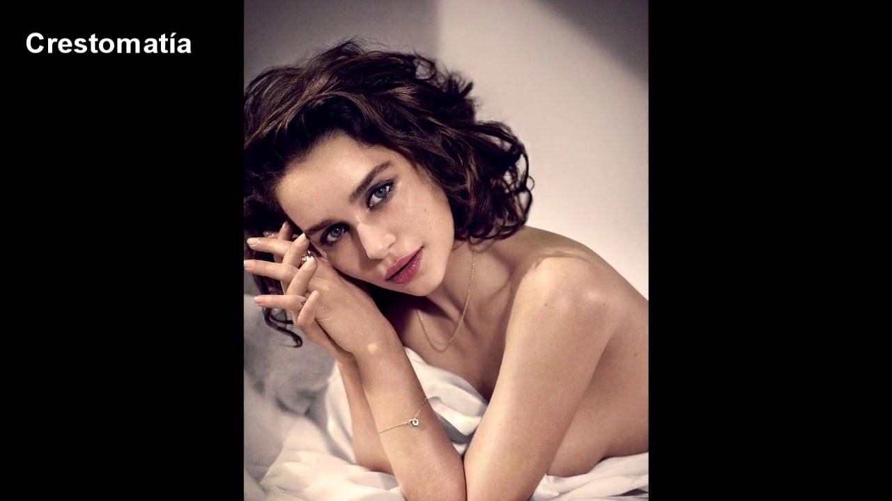 Emilia Clarke Desnuda Y Borracha En Esquire