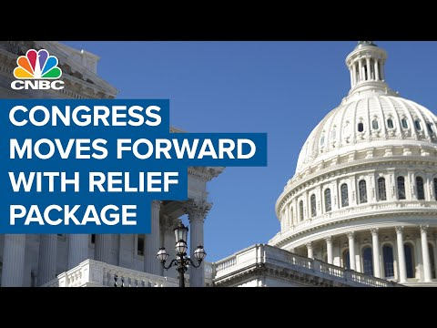 Congress is moving ahead with its $1.9 trillion coronavirus stimulus package