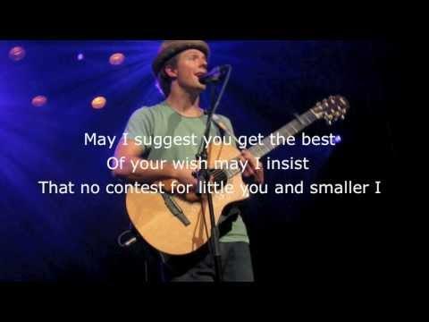 Jason Mraz- Bella Luna w/ Lyrics (Acoustic)