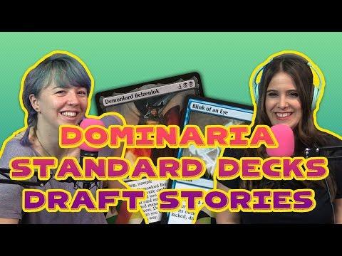 New Dominaria STANDARD Decks + Draft Stories + Magic News! | Magic the Gathering Vidcast (MtG)