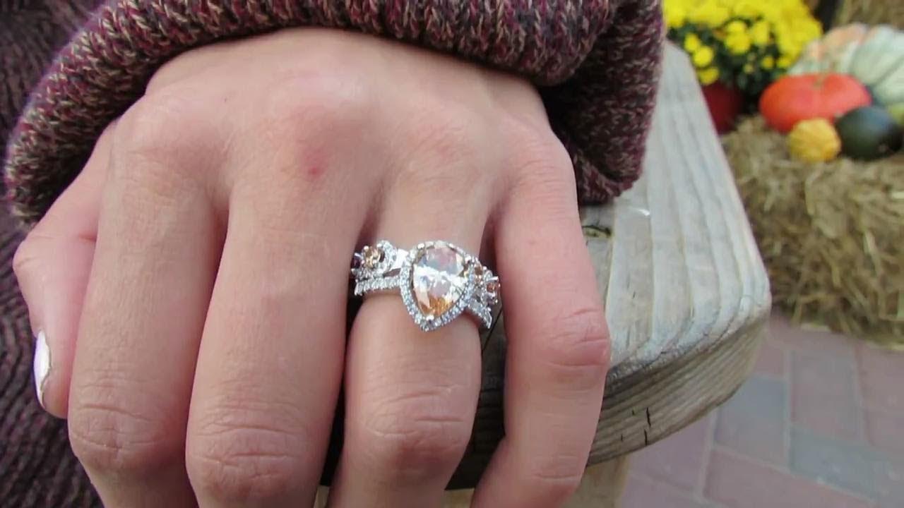Jewelry Styling + Review - Jeulia.com - YouTube