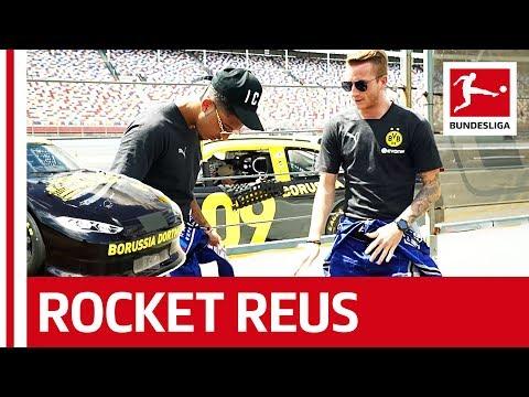 Rocket Reus Takes The Ultimate NASCAR Racing Challenge