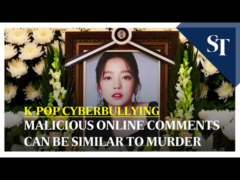 South Korea's K-pop - Cyber violence a serious crime