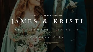 James and Kristi // The Normans // 15.08.19 // Wedding Film