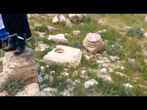 Ancient Bethlehem of Judea. April 2015