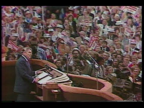 President Reagan's Acceptance Speech at the Republican National Convention, August 23, 1984