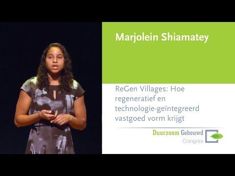 Duurzaam Gebouwd Congres 2016 – ReGen Villages