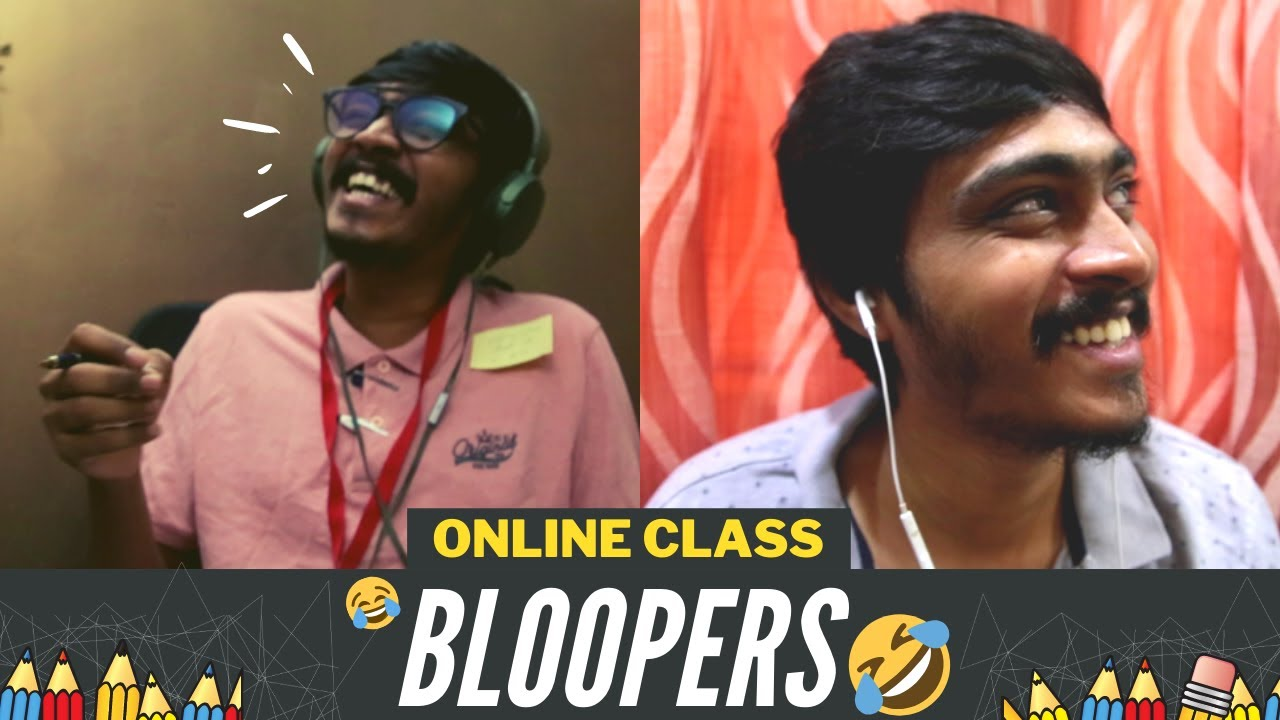 Types of Students in online classes bloopers | Jump Cuts | Hari & Naresh
