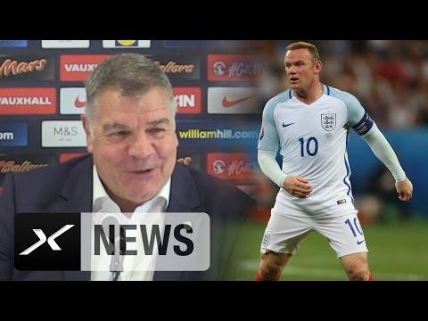 Sam Allardyce deutet Kapitäns-Wechsel an | Wayne Rooney nicht mehr Englands Kapitän?