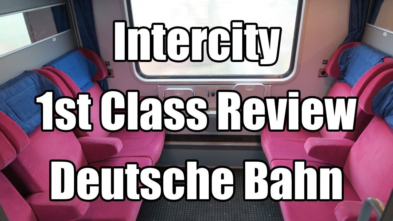 Intercity train First Class REVIEW of Deutsche Bahn | From Hamburg to  Rostock IC 2184 | Vlog #6