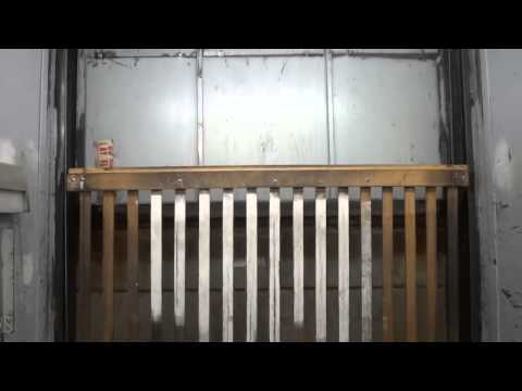 STORE CLOSED: Vintage Dover Freight Elevator JCPenney Downtown El Paso, TX