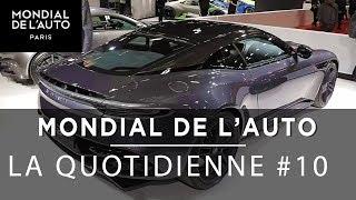 Mondial de l'Auto - Le JT10 -Dacia Duster, Aston Martin , Suzuki Katana et un cours de bruitage