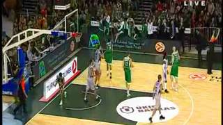 Sonny Weems BC Žalgiris - Euroleague Highlight Reel 2011 HQ