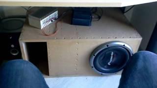 pioneer ts w 3002 d4 in tline box