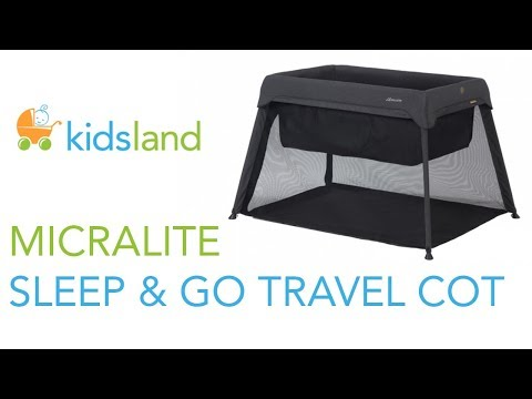 Micralite Sleep & Go Travel Cot // Introduction By Kidsland